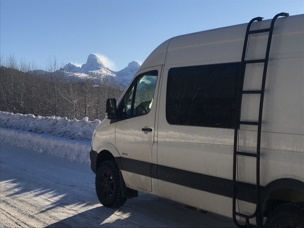 Winter Vanlife ~ Our 25 Day Ski Odyssey  Part 1